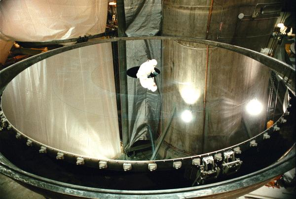 Ciencia al d a internacional art culo 2 astronom a for Polissage miroir telescope